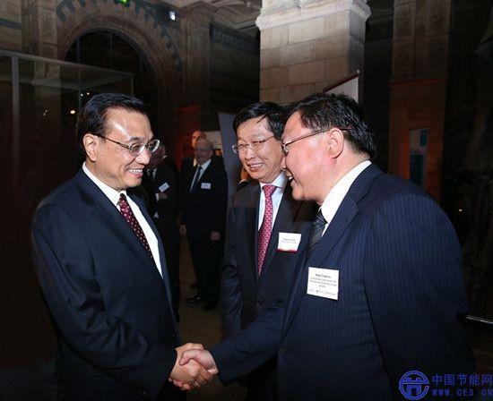 中国节能代表团参加李克强总理欧洲国事访问活动