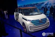 大众BUDD-e概念车正式亮相 2016 CES
